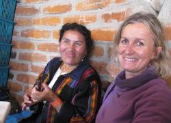 En famille en Equateur