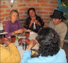 avec nos amis équatoriens